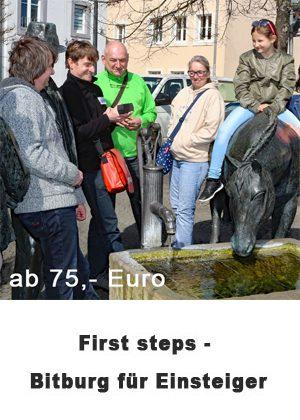 First steps - Bitburg für Einsteiger